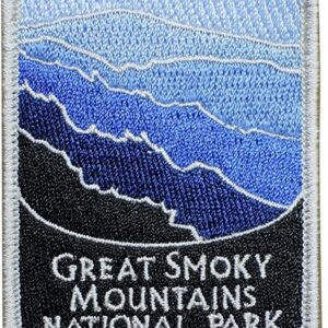 Blue Great Smoky Mountains National Park Patch