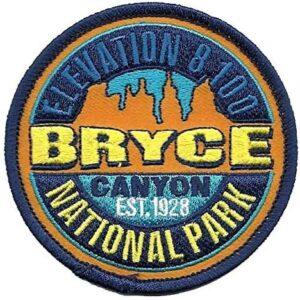 Bryce Canyon National Park Elevation Patch