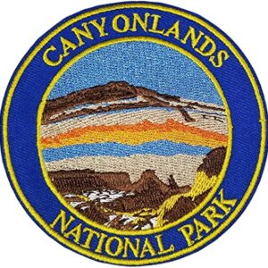 Canyonlands National Park Emrboidered Patch