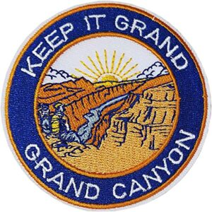 Classic Grand Canyon National Park Patch