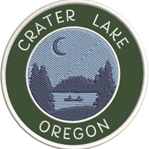 Crater Lake Oregon Patch