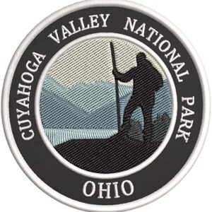 Cuyahoga Valley National Park Ohio Embroidered Patch