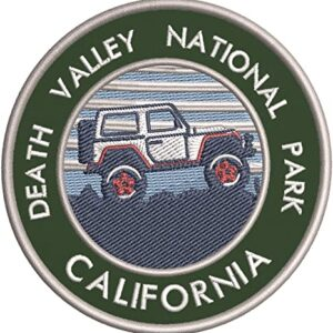 Death Valley National Park Embroidered Patch