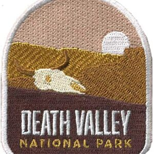 Death Valley National Park Iron On Patch
