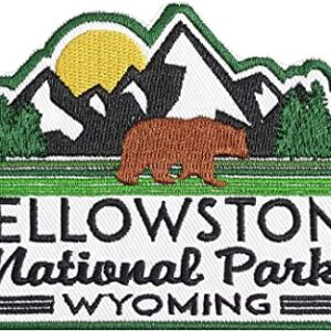 Embroidered Yellowstone National Park Patch
