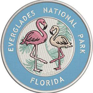 Everglades National Park Flamingos Patch