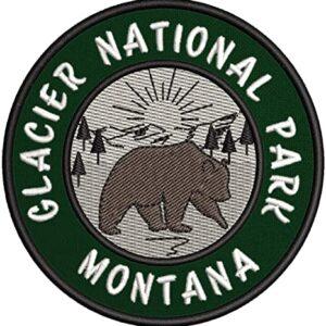 Glacier National Park Bear Patch