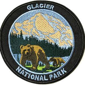 Glacier National Park Bears Patch