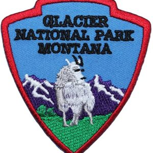 Glacier National Park Montana Shield Patch