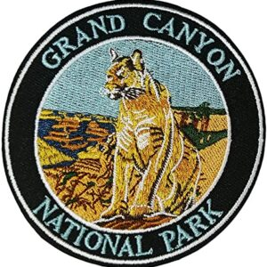 Grand Canyon National Park Mountain Lion Patch