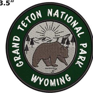 Grand Teton National Park Wyoming Patch