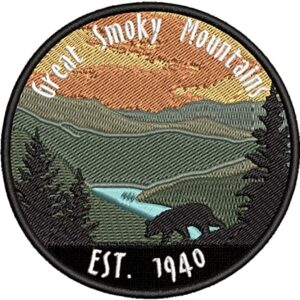 Great Smoky Mountains Established 1940 Patch