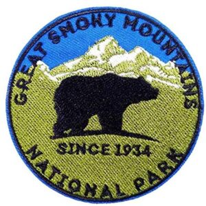 Great Smoky Mountains National Park Blue And Green Patch