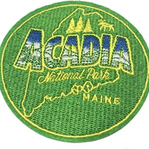 Green Acadia National Park Patch