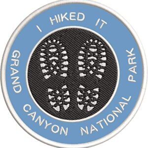 I Hiked The Grand Canyon Patch