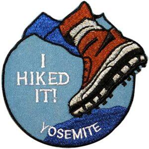 I Hiked Yosemite Patch