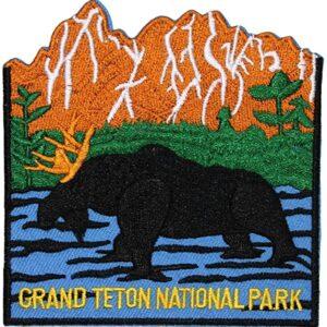 Iron On Grand Teton National Park Patch