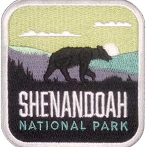 Iron On Shenandoah National Park Patch