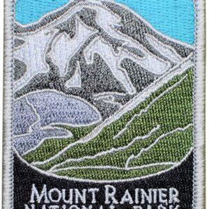 Mount Rainier National Park Patch