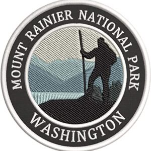 Mt Rainier National Park Hiking Patch