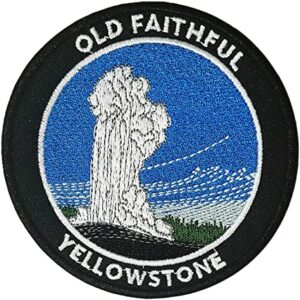 Old Faithful Yellowstone National Park Patch
