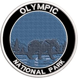 Olympic National Park Embroidered Patch
