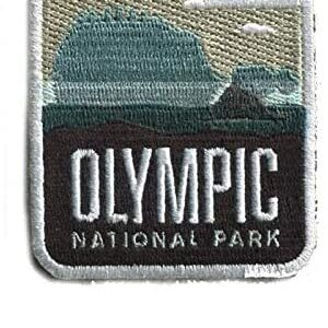 Olympic National Park Iron On Patch