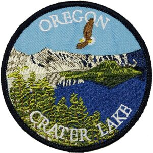 Oregon Crater Lake Patch National Park Patch