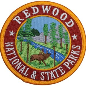 Redwood National And State Parks Patch