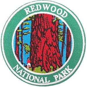 Redwood National Park Embroidered Patch