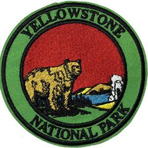 Retro Yellowstone Patch