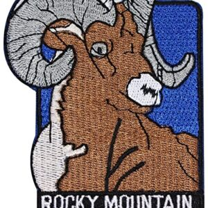 Rocky Mountain National Park Bighorn Sheep Patch