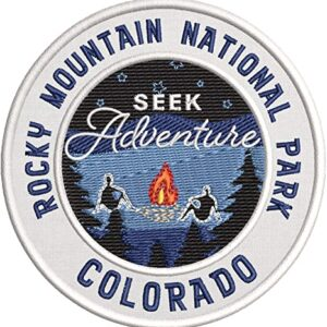 Rocky Mountain National Park Embroidered Patch