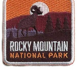 Rocky Mountain National Park Iron On Patch