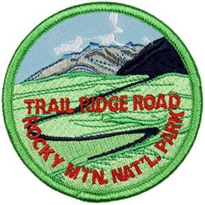 Rocky Mountain Trail Ridge Road Patch
