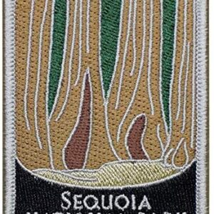 Sequoia National Park California Sew On Patch