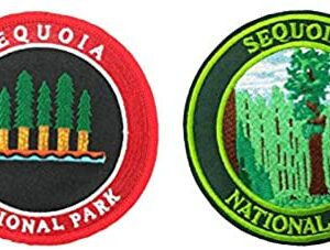 Sequoia National Park Embroidered Iron On Patch