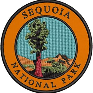 Sequoia National Park Embroidered Patch
