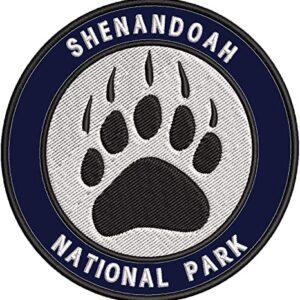 Shenandoah National Park Embroidered Patch