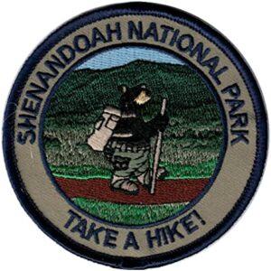 Shenandoah National Park Hiking Patch