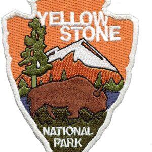Yellowstone National Park Arrowhead Patch