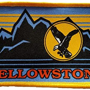 Yellowstone National Park Eagle Patch