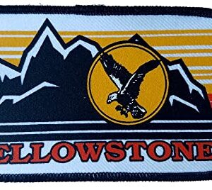 Yellowstone National Park Embroidered Eagle Patch