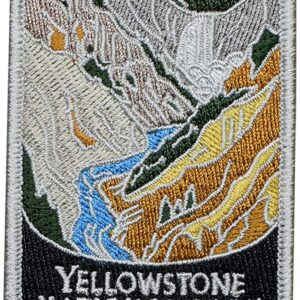 Yellowstone National Park River Patch