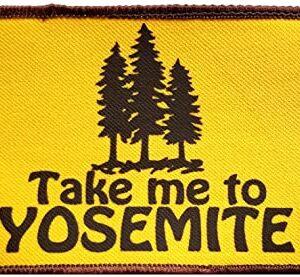 Yosemite California Embroidered Patch