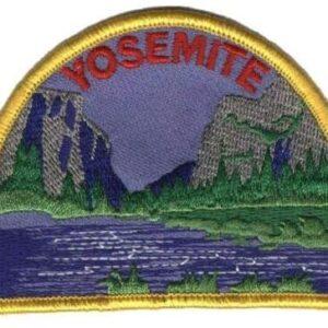 Yosemite Half Dome Patch