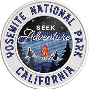 Yosemite National Park Embroidered Adventure Patch
