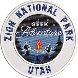 Zion National Park Embroidered Patch