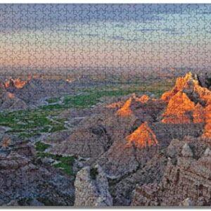 1000 Piece Badlands National Park Jigsaw Puzzle