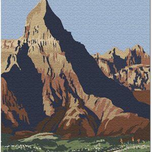 1000 Piece Badlands National Park South Dakota Puzzle